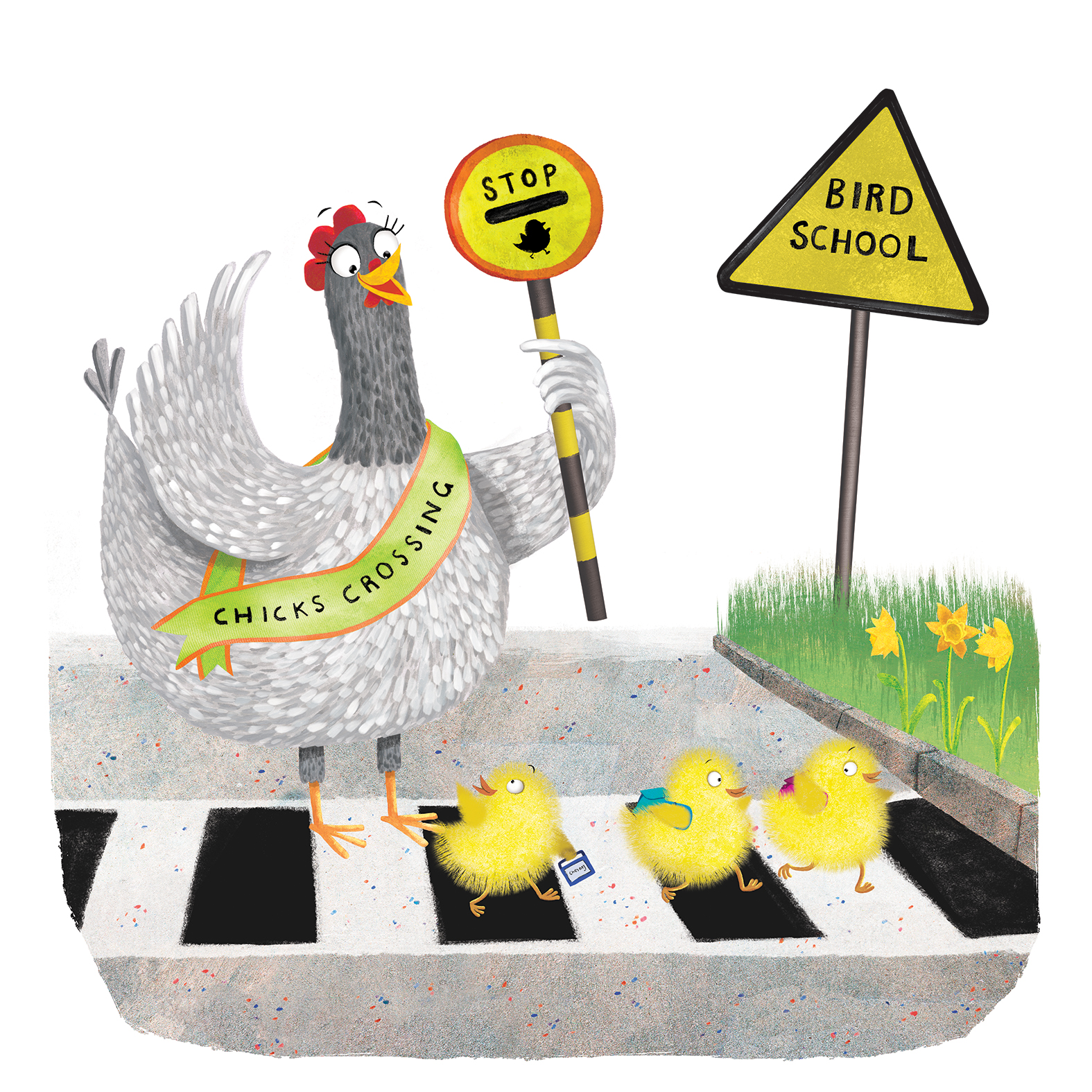 chicks_crossing_road