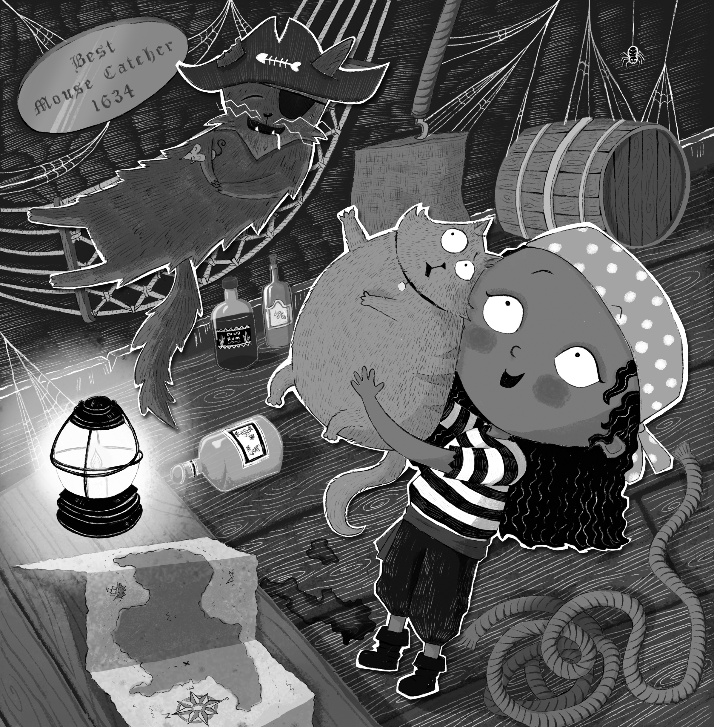 flapjack and the pirates-bw-1